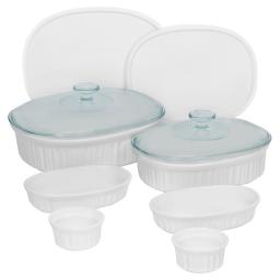 Corningware® Set de 10 Ramekins French White